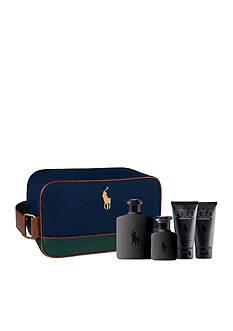 Ralph Lauren Fragrances POLO Double Black Dopp Kit