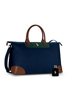 Ralph Lauren Fragrances Polo Black 4.2-oz. Eau de Toilette Spray + FREE Duffel Bag