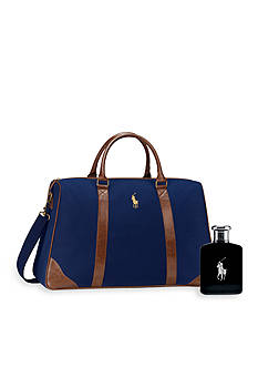 Ralph Lauren Polo Black Duffle GWP Pack On Set