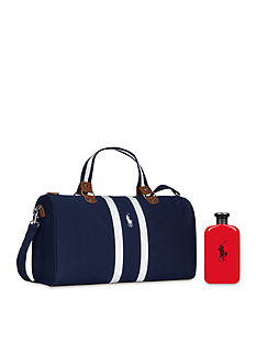 Ralph Lauren Fragrances Polo Red + Duffle Bag