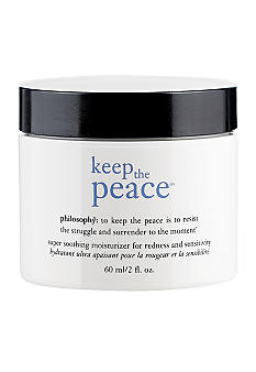 philosophy keep the peace moisturizer