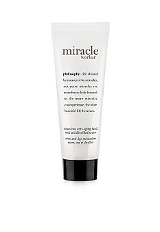 philosophy miracle worker hand & neck cream