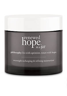 philosophy renewed hope in a jar night