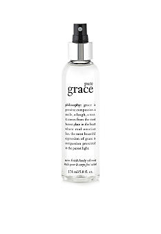 philosophy pure grace satin-finish body oil mist