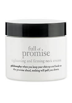 philosophy full of promise neck cream