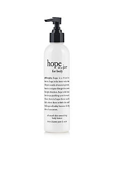 philosophy hope in a jar advanced skin-smoothing body lotion