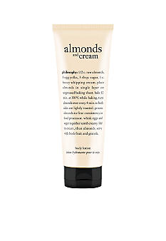 philosophy almonds & cream lotion