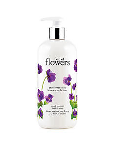 philosophy field of flowers violet blossom body lotion