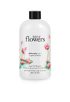 philosophy field of flowers water lily shower gel