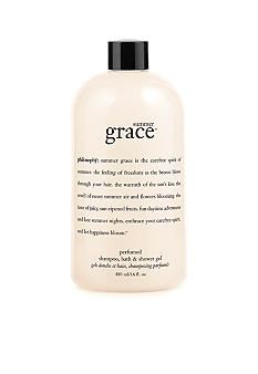 philosophy summer grace perfumed shampoo, bath & shower gel
