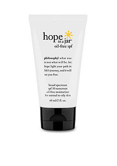philosophy hope in a jar oil-free spf 30