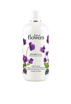 philosophy field of flowers violet blossom shower gel