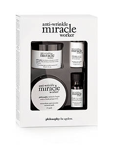philosophy miracle worker miraculous skincare collection trial kit
