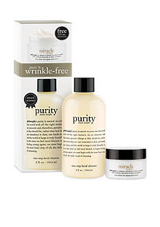 philosophy purity and miracle worker moisturizer duo kit