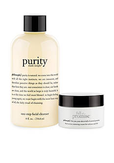 philosophy purity and full of promise moisturizer duo