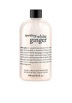 philosophy sparkling white ginger shower gel