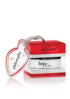 philosophy hope in a jar ornament