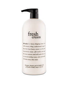 philosophy fresh cream shower gel
