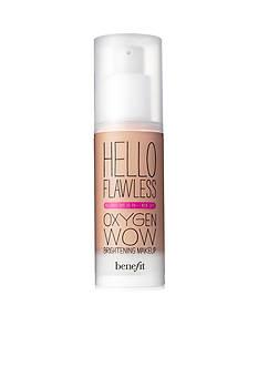 Benefit Cosmetics Hello Flawless Oxygen Wow Brightening Makeup