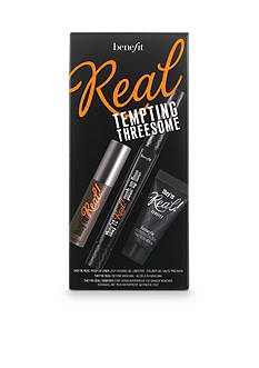 Benefit Cosmetics Limited Edition Real Tempting Threesome Set of they're real! liner, mascara & remover