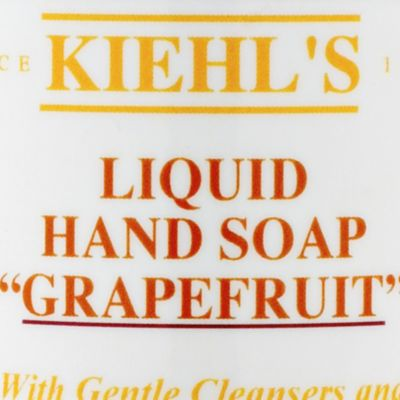 Hand Soap: Grapefruit Kiehl's Since 1851 Liquid Hand Soaps