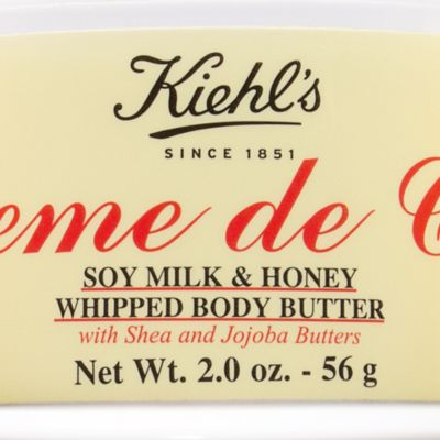 Body Cream: Soy Milk    And Honey Kiehl's Since 1851 Creme de Corps Whipped Body Butter Soy Milk and Honey