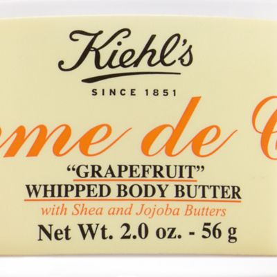 Body Cream: Grapefruit Kiehl's Since 1851 Creme de Corps Whipped Body Butter Soy Milk and Honey