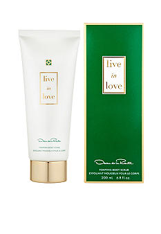 Oscar de la Renta Live In Love Foaming Body Scrub