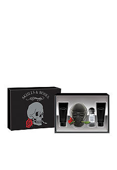 Ed Hardy Skulls & Roses for Men  Eau de Toilette  Spray 4 Piece Set