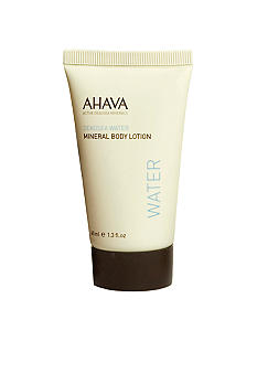 AHAVA Travel Size Mineral Body Lotion