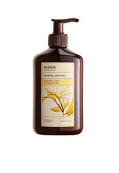 AHAVA Mineral Botanic Body Lotion Honeysuckle & Lavender