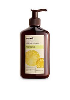 AHAVA Mineral Botanic Pineapple & Peach Body Lotion