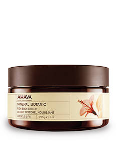 AHAVA Mineral Botanic Hibiscus & Fig Rich Body Butter