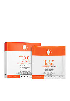 TanTowel Full Body Classic 5 Pack Self-Tanning Towelettes