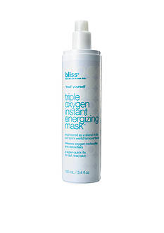 Bliss Triple Oxygen Instant Energizing Facial Mask