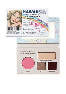 the Balm cosmetics Autobalm Face Palettes
