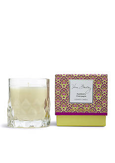 Vera Bradley Appleberry Champagne Candle in Glass