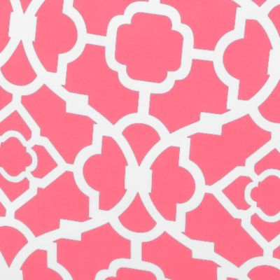 Waverly Bedding: Coral Waverly DUFFEL LATTICE CORAL