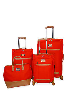 Jessica Simpson Brights Luggage Collection - Coral