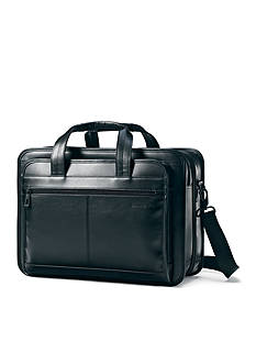 Samsonite Expandable Leather Business Case