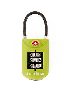Samsonite Large Dial Travel Sentry Combo Lock