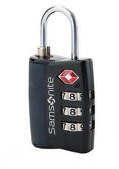 Samsonite Travel Sentry 3-Dial Combo Lock