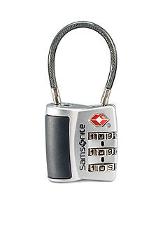 Samsonite 3 Dial Travel Sentry Combo Lock