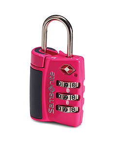 Samsonite 3D Travel Combo Lock - Pink