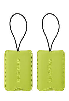 Samsonite 2 Pack Vinyl ID Tags