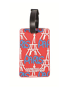 American Tourister Paris Luggage Tag