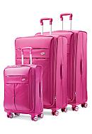 American Tourister Colora Spinners - Raspberry