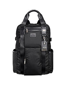 Tumi Alpha Bravo Lejeune Backpack Tote - Black