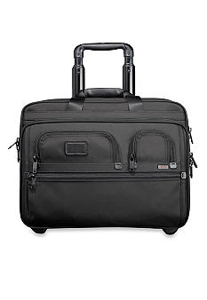 Alpha Deluxe Wheeled Brief with Laptop Case