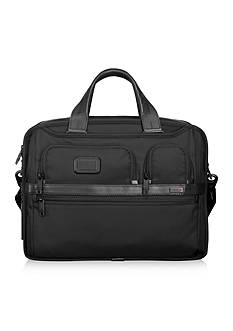 Tumi Alpha 2 Expandable Organizer Laptop Brief